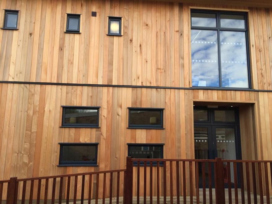 Modular Classroom Uk : Eco modular classrooms for schools the learning escape