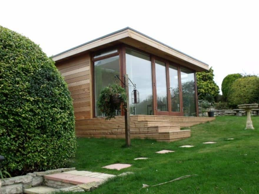 Garden office buildings book a free survey the garden for Garden office buildings