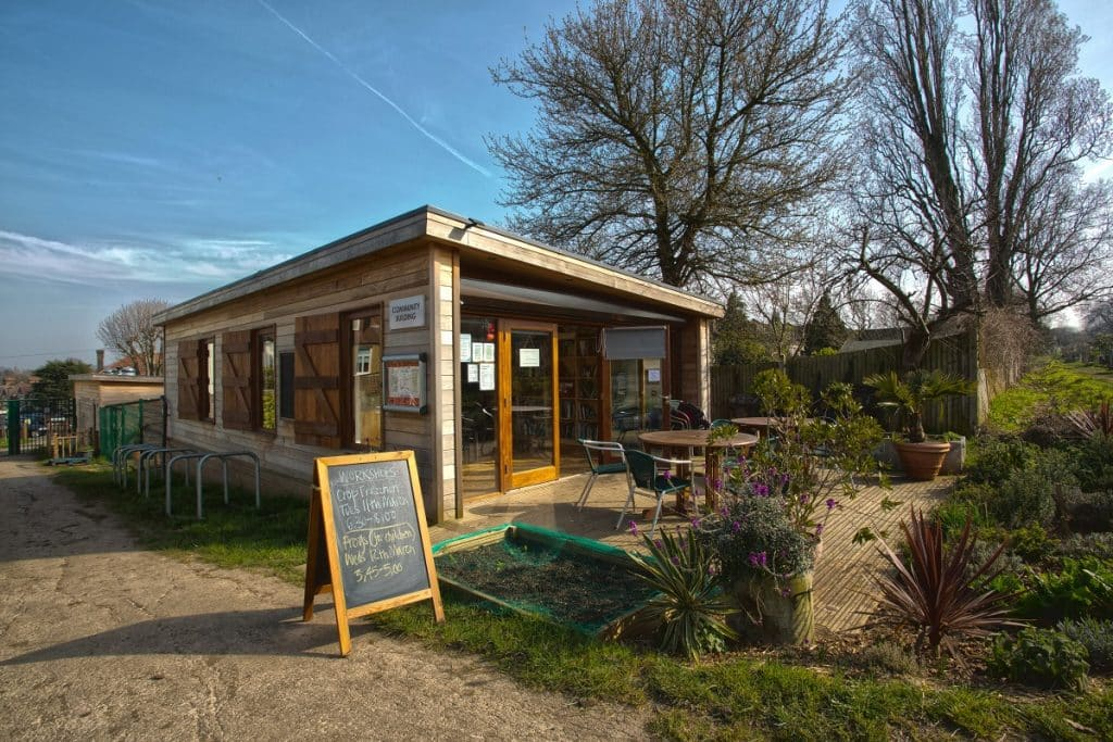 Rosendale Allotments shop and community room