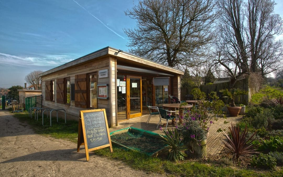 Community Centre and Shop at Rosendale Allotments Association
