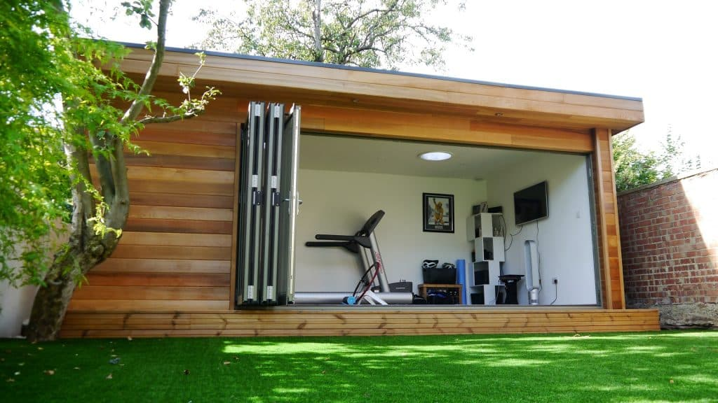 Garden building product range - cube contemporary and ...