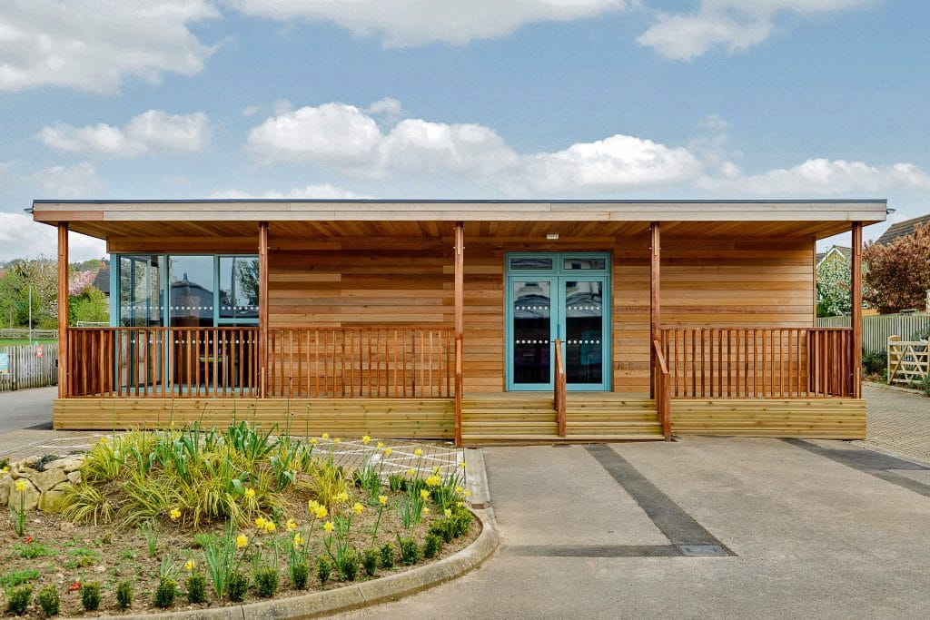Eco classroom by TG Escapes @ Mickleton Primary Gloucester