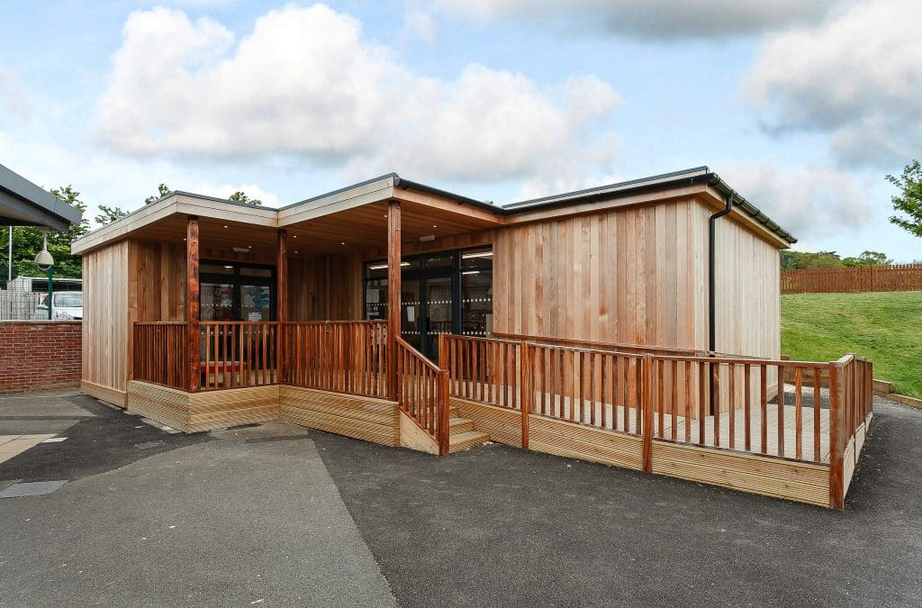 Eco-classroom at Coopers Edge Primary School, Gloucester