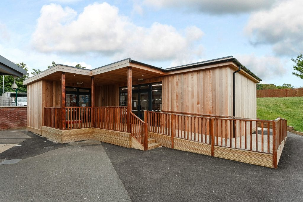 Eco classroom by TG Escapes @ Coopers Edge Gloucester