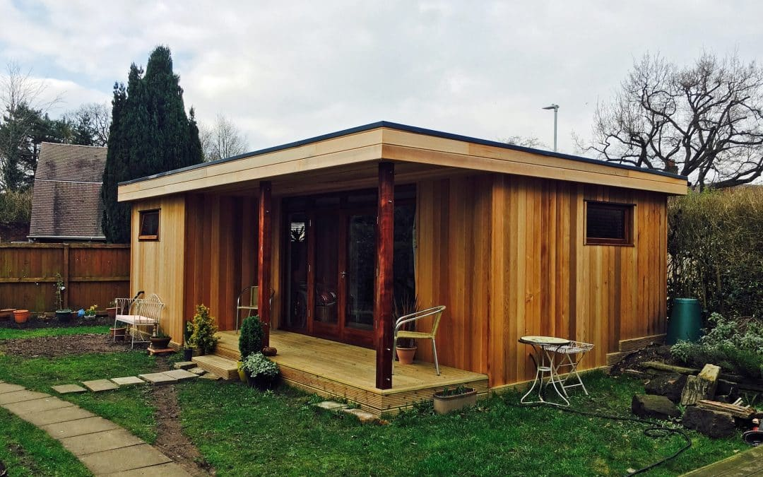 The Lady in the Lodge – Garden Annexe in Cheshire