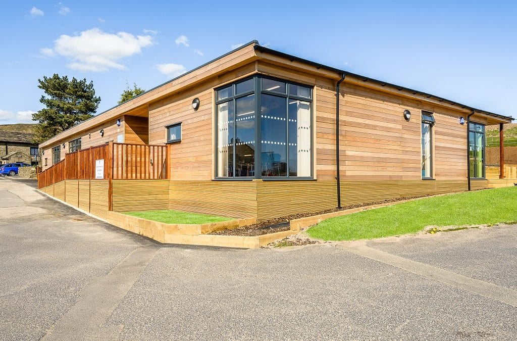 Eco-building for SEN at Rossendale School