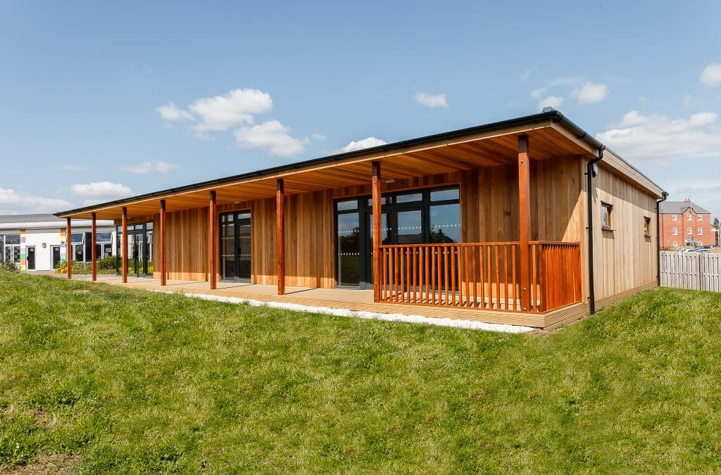 Eco-classrooms at Waterwells Primary Academy
