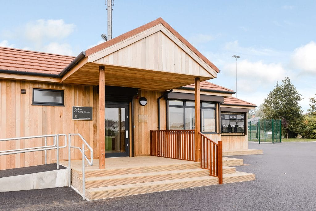 Ruskin Leisure Changing Facilities by TG Escapes