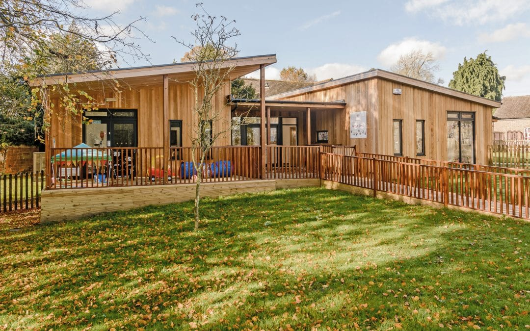 Eco-Nursery at St Francis Little Saints Nursery in Wiltshire