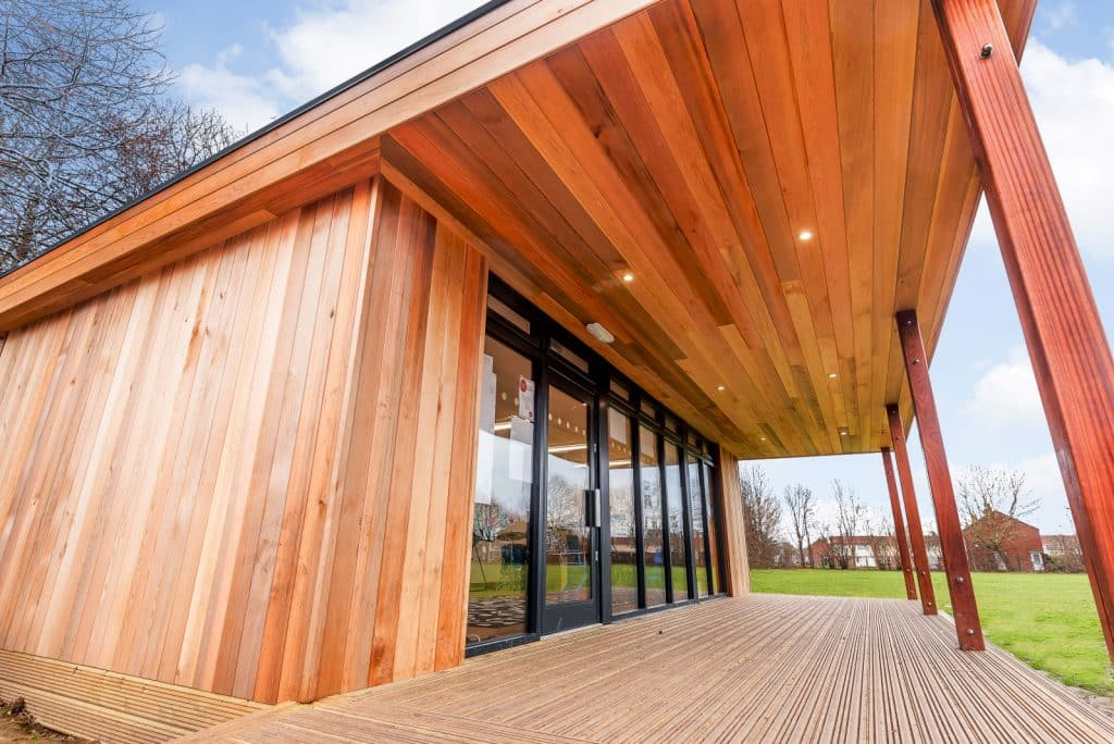 Eco music studio by TG Escapes at Rowner School