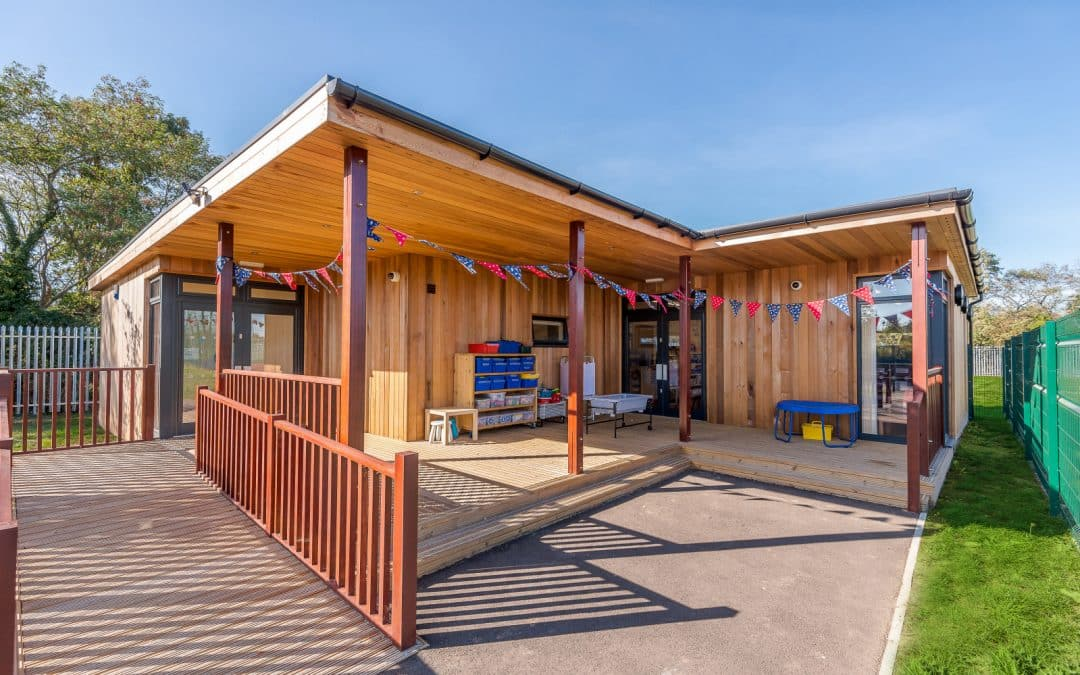 Eco-classroom for SEN at Rabbsfarm Primary School in West Drayton