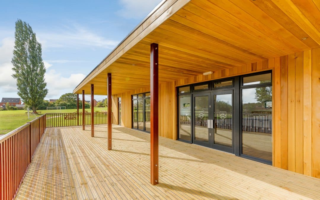 Multi-purpose Eco-classroom at Bishop's Tachbrook Primary and Nursery School in Leamington Spa