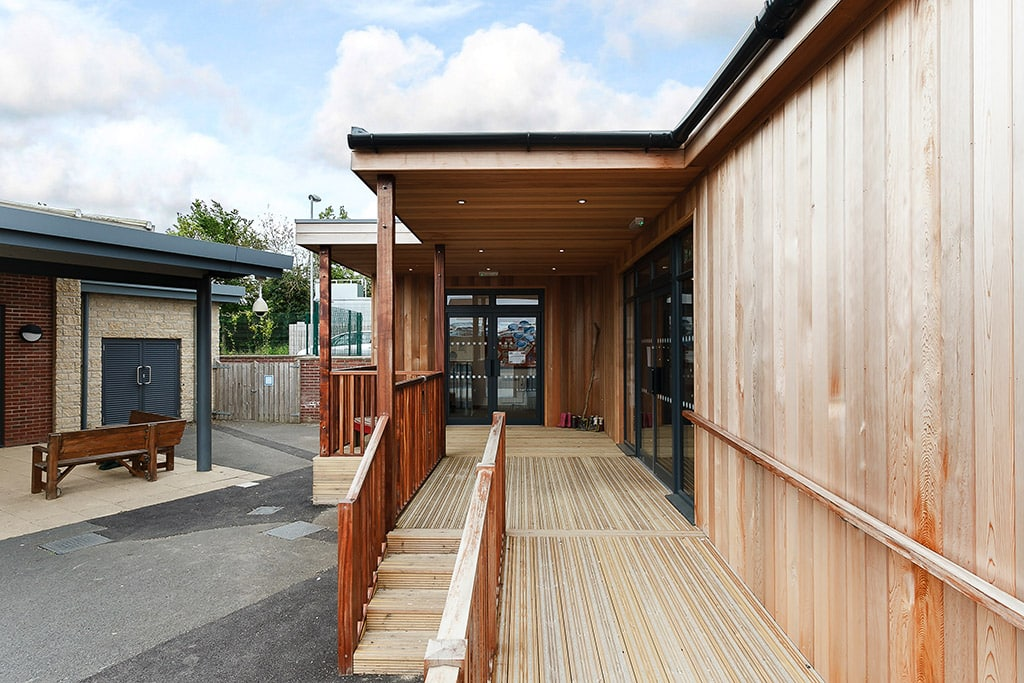 "Eco Classroom at Coopers Edge Primary School<a href=""/education-eco-classroom-coopers-edge-primary-school-gloucester""> Read case study</a>"