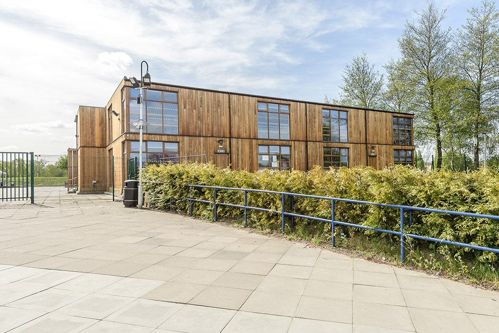 "Double storey Eco Classroom block at Claremont Fan Court School <a href=""/education-double-storey-eco-classrooms-claremont-fan-court-school""> Read case study</a>"