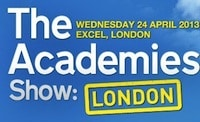 Join us at The Academies Show 24th April