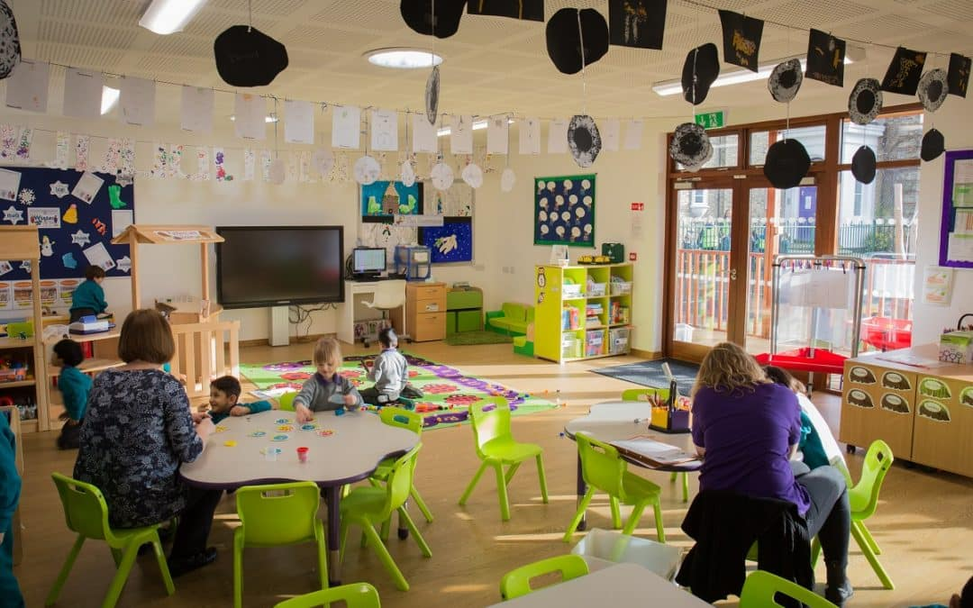 Creating space for the new 30 hours free childcare provision