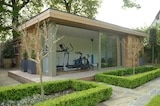 Multi-room garden buildings boost space and practicality