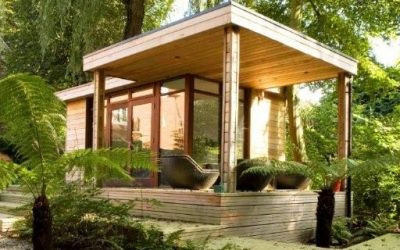 Create a device free zone with a garden room