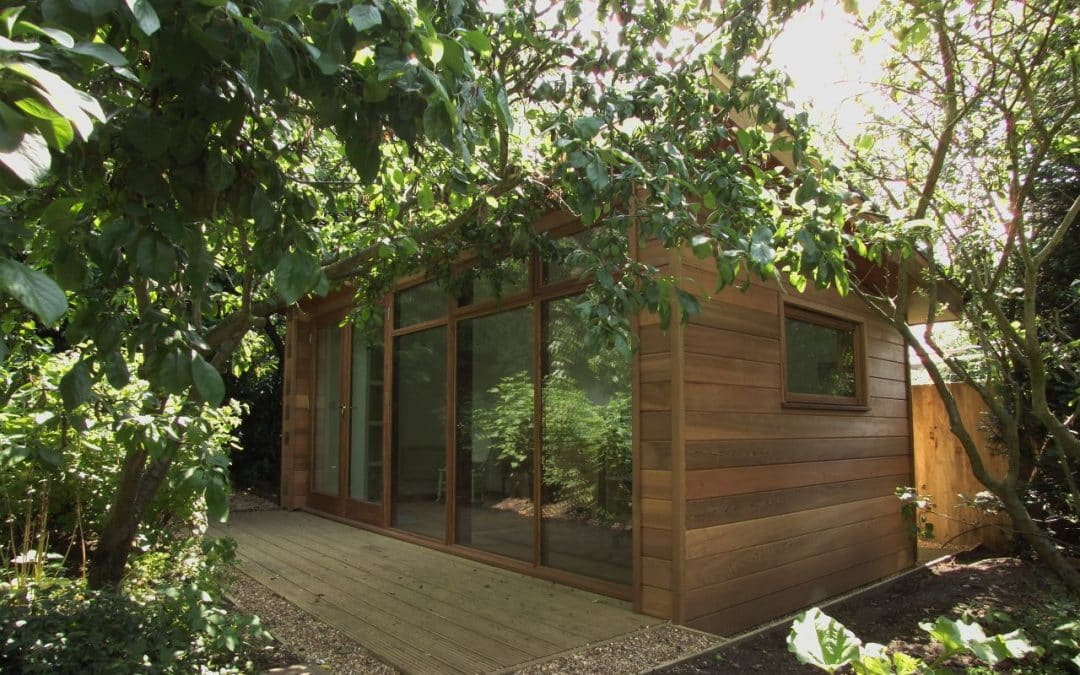 Bring work closer to home with a garden office
