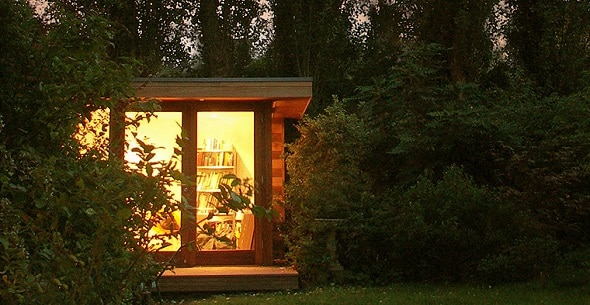 Beat the Energy Suppliers with an efficient Garden Room
