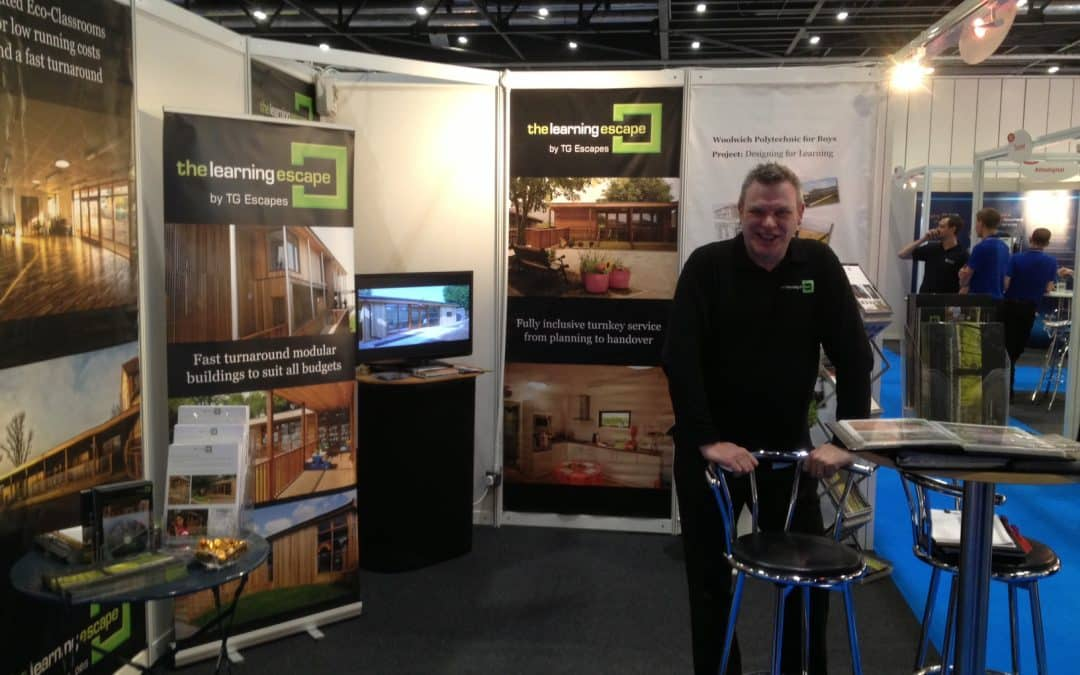 Talking about the environment, outdoor learning and funding at the Education Show