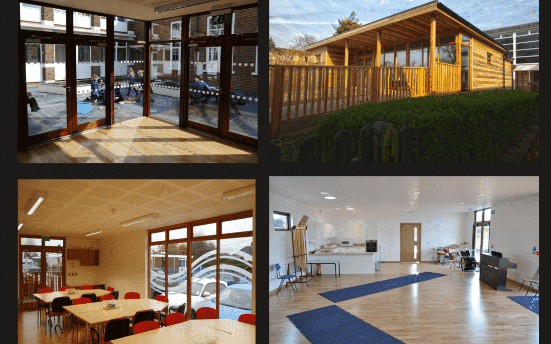 How could you make use of a modular school building?