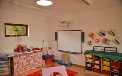A nursery space that grows with your school