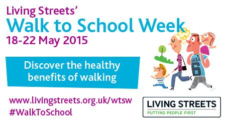 It's Walk to School Week 2015
