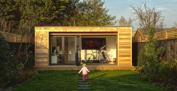 Boost your creativity and walk to work in a Garden Office