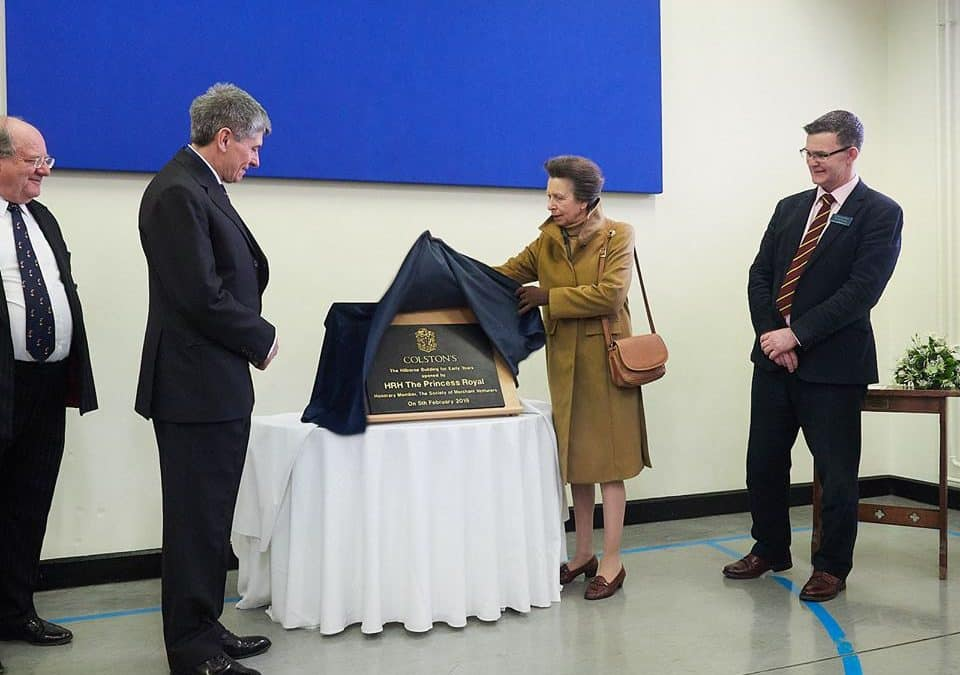 Official opening at Colston's School with The Princess Royal