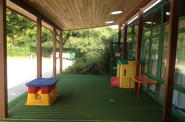Early Years Outdoor Classroom at Arnold Seely Primary