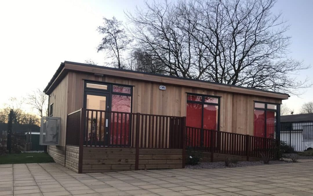 Multi-purpose Eco Building at Clarendon Primary School in Bolton