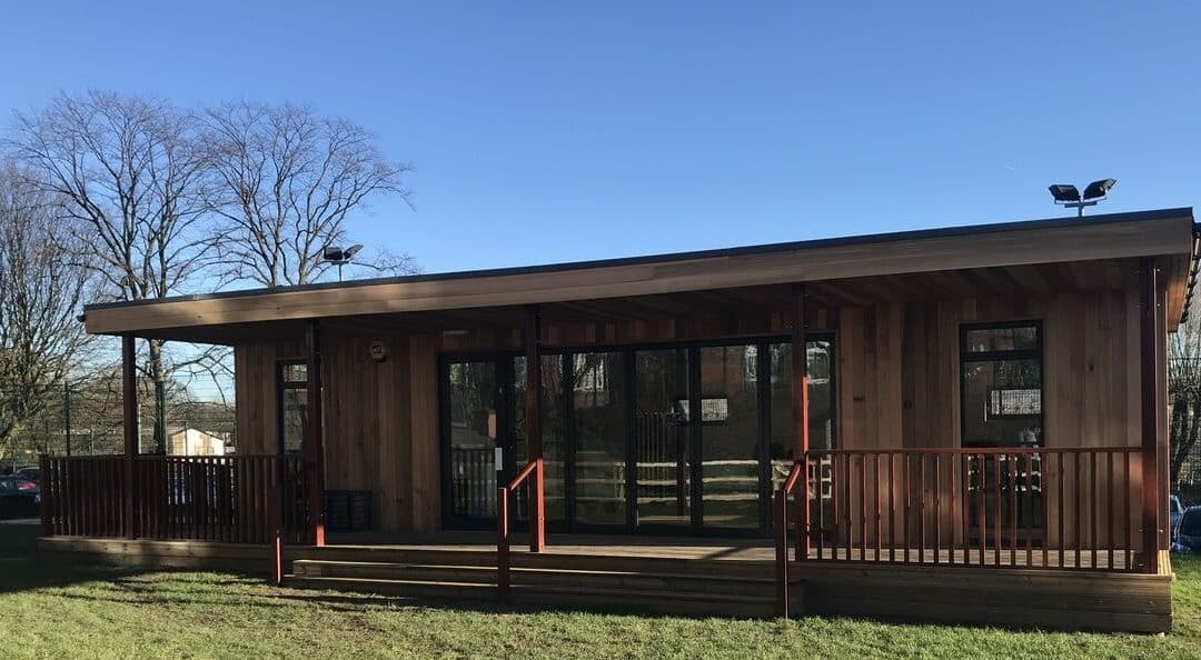 Eco Classroom at Greenbank Primary School in Rochdale