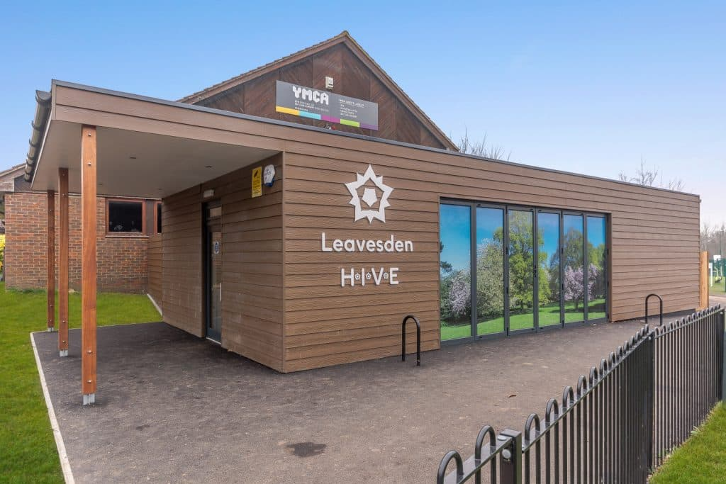 The Hive Education Centre at Leavesdon Country Park by TGEscapes