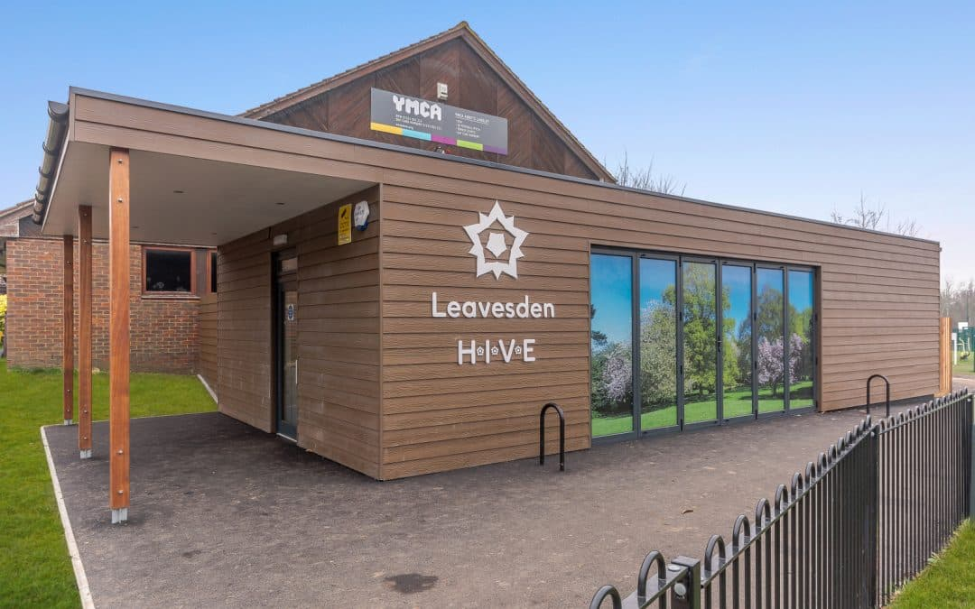 The Hive Education Centre at Leavesden Country Park