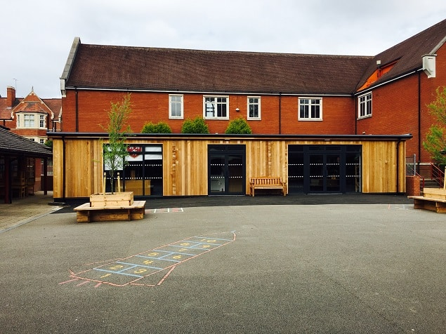 Eco-classroom at Bablake School in Coventry