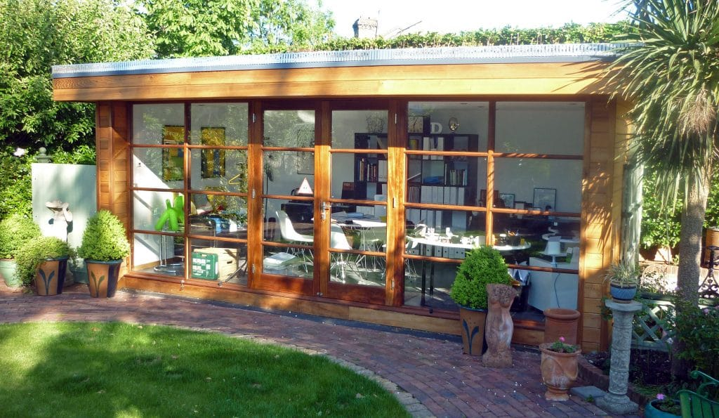 Garden Office in London by The Garden Escape