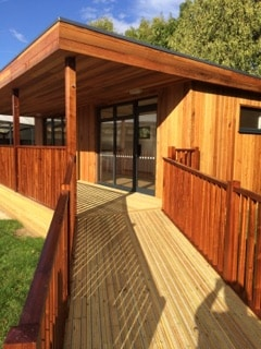 Eco-classroom at Herne C E Infant and Nursery School in Kent