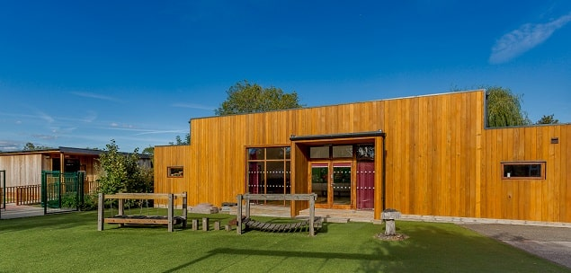 Eco-buildings at Kymbrook Primary & Thurleigh Primary School in Bedford