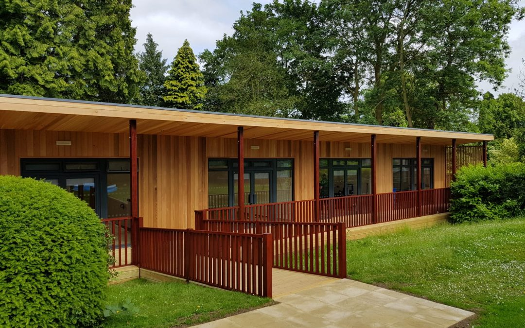 Eco building for SEN at The Shires Oakham – Video