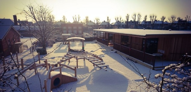 Eco-Nursery at The Raglan Schools in Middlesex