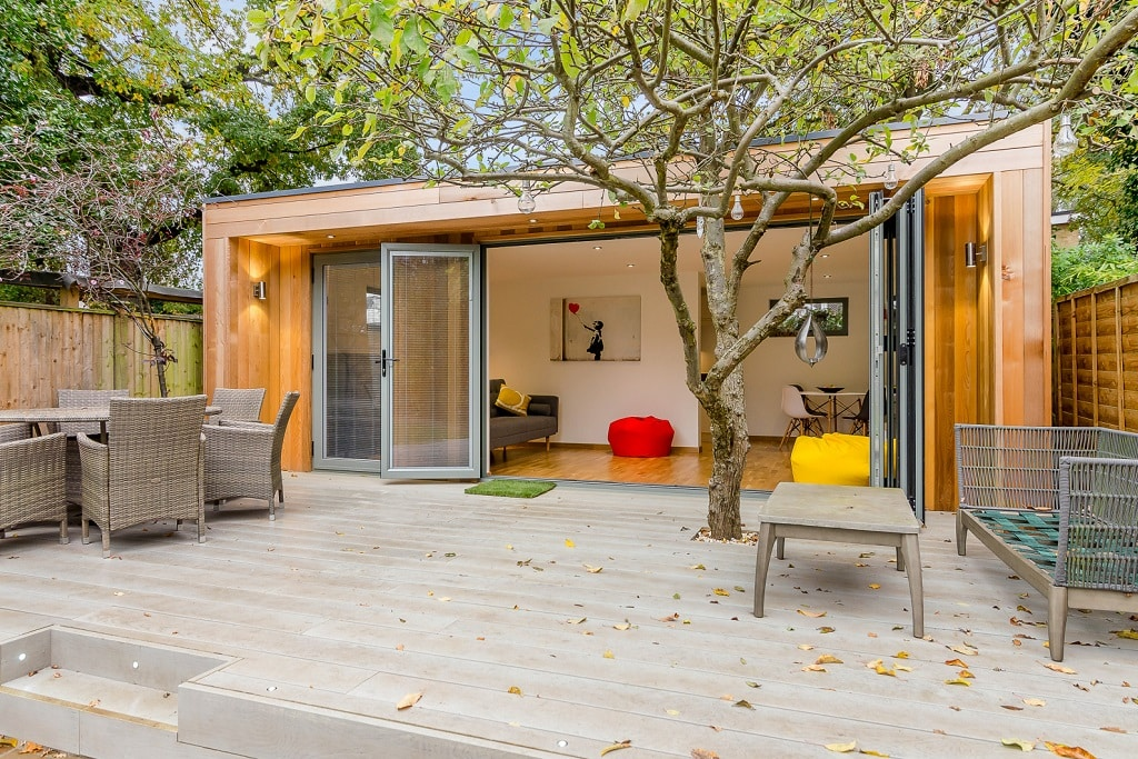 "Multi-use Garden Room<a href=""/residential-multi-use-garden-room-twickenham""> Read case study</a>"