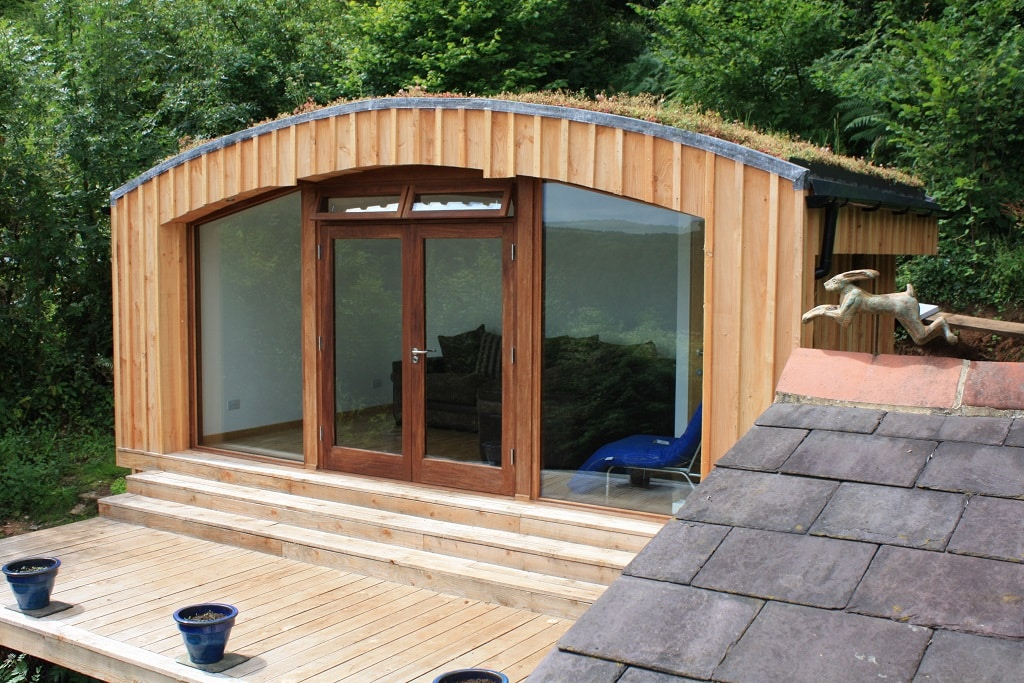 "Curve Relaxation Room <a href=""/residential-garden-guest-room-herefordshire""> Read case study</a>"