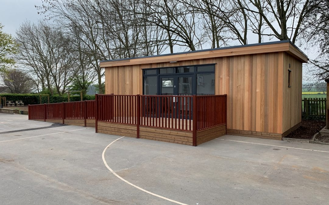 Eco Building for Intervention Space at Sunnybrow Primary School