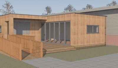 TG Escapes working with Milton Keynes Business Centre to design eco-café and breakout space