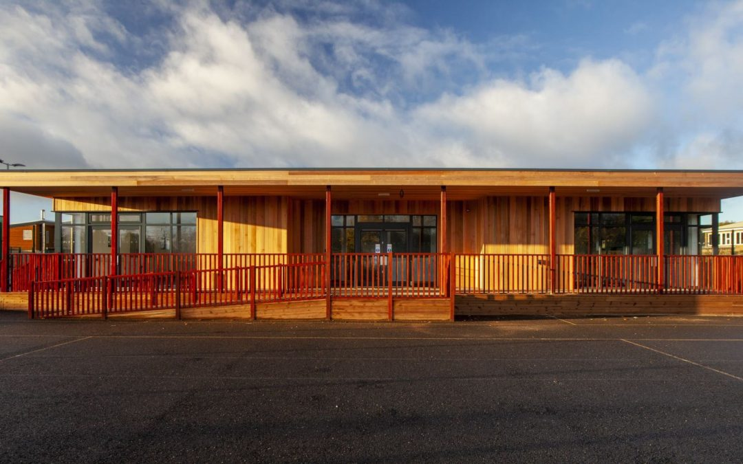 Eco Classroom for SEN at Sir Charles Parsons School