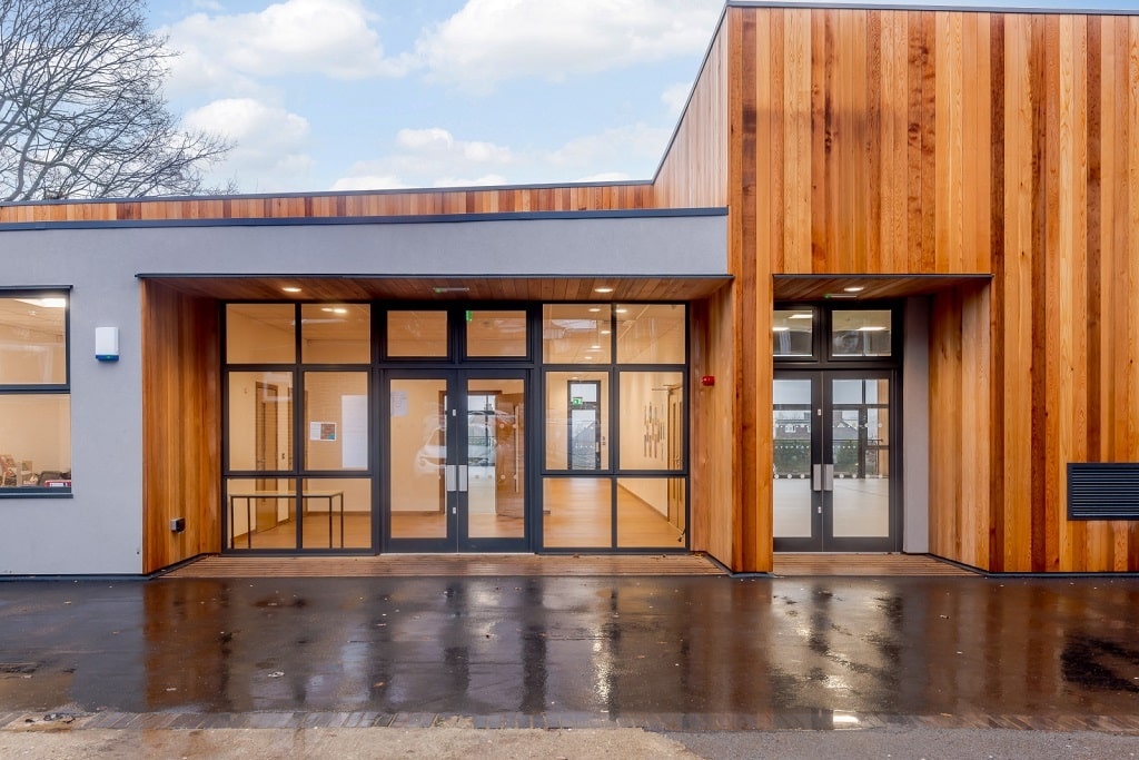 """Dance and Drama studios at Hendon School <a href=""""/dance-and-drama-studio """"> Read case study</a>"""