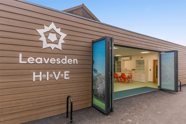 Eco-building at Leavesdon Country Park