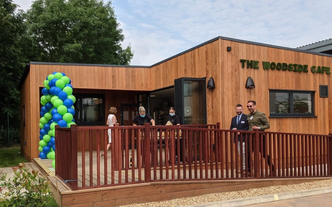 Eco Cafe for Capital Space at Milton Keynes Business Centre