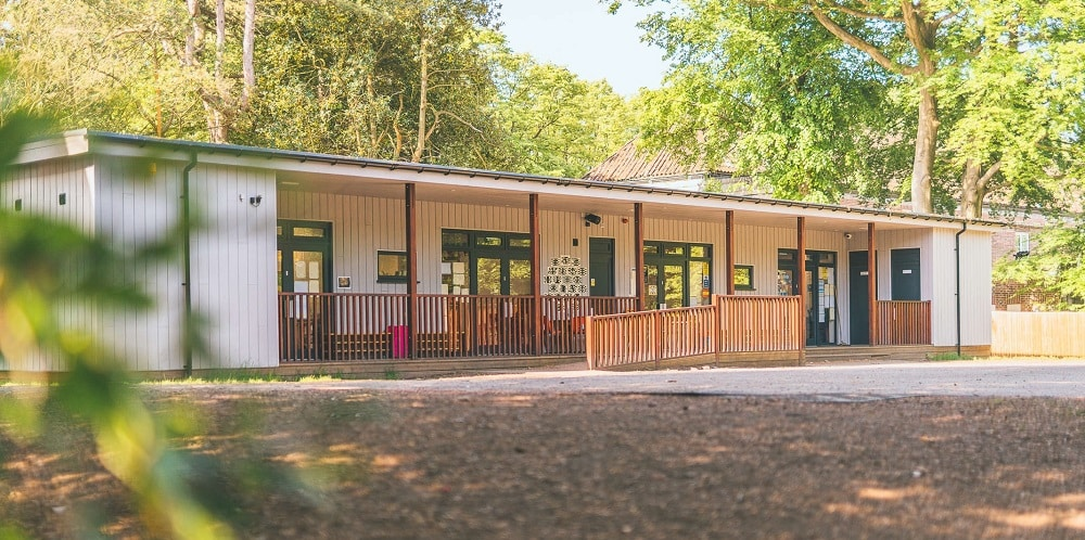 Eco Building for junior school classrooms at Liverpool College